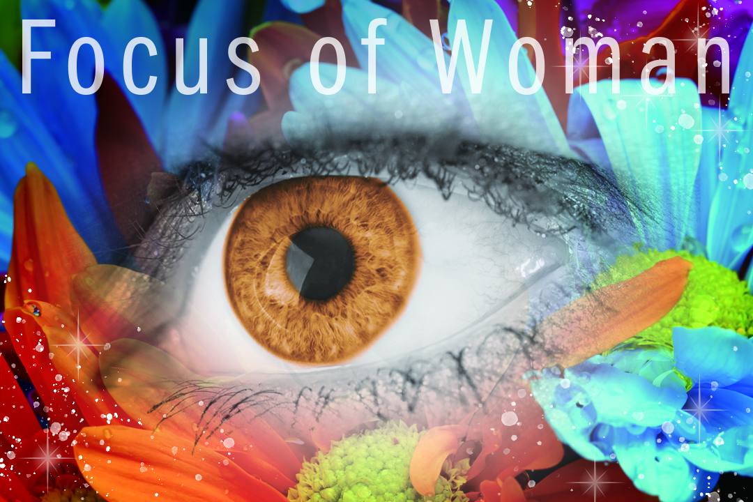 Focus of Woman